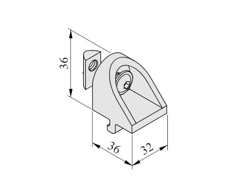 Angle Clamp Bracket 8