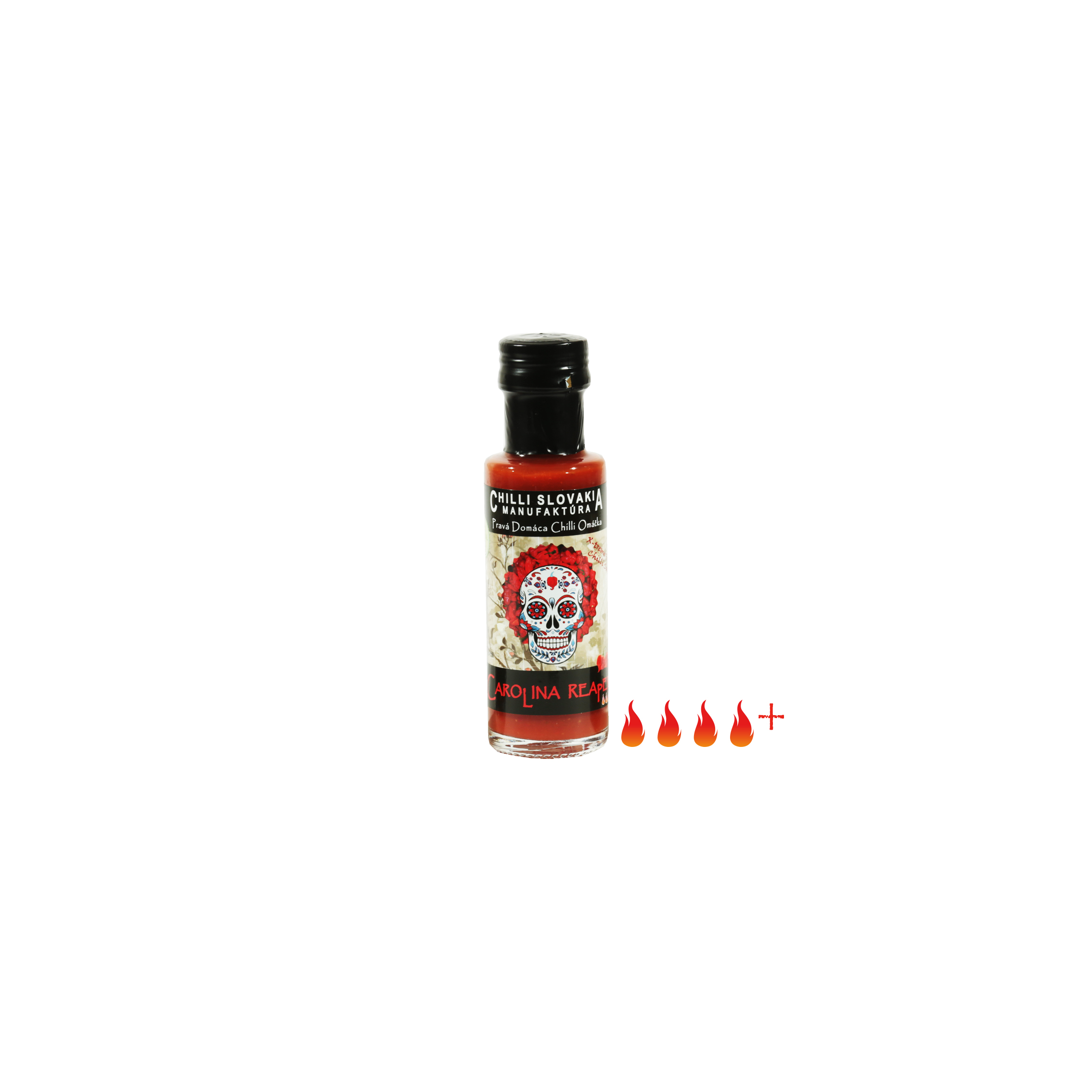 CAROLINA REAPER chilli omáčka 100ml