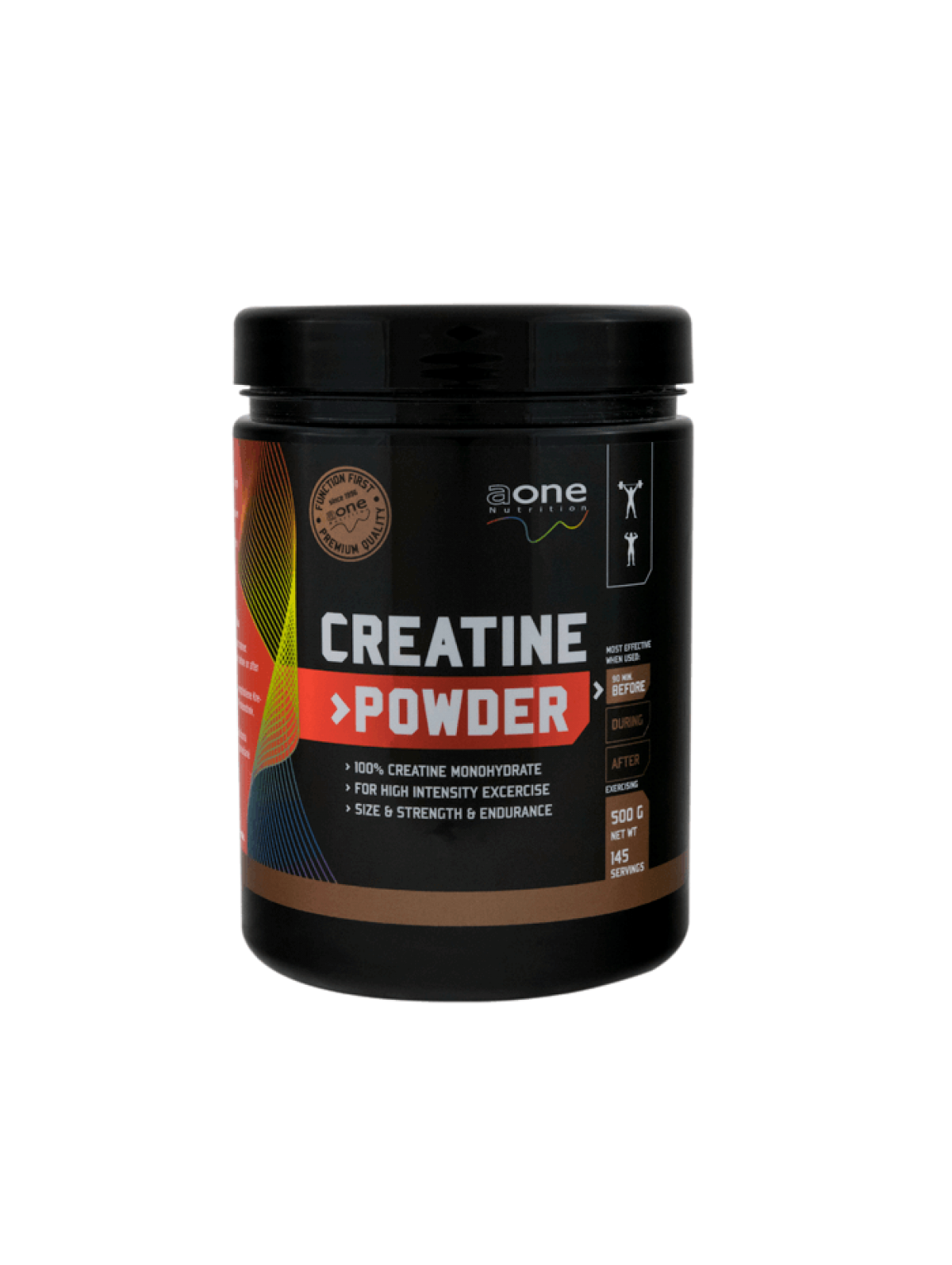 100% Creatine Monohydrate 500g - AONE NUTRITION