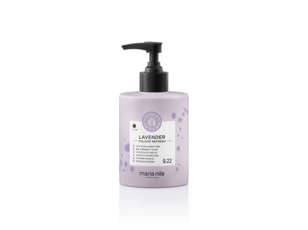 Maria Nila - farebná maska - Colour Refresh 300 ml, Lavender 9.22