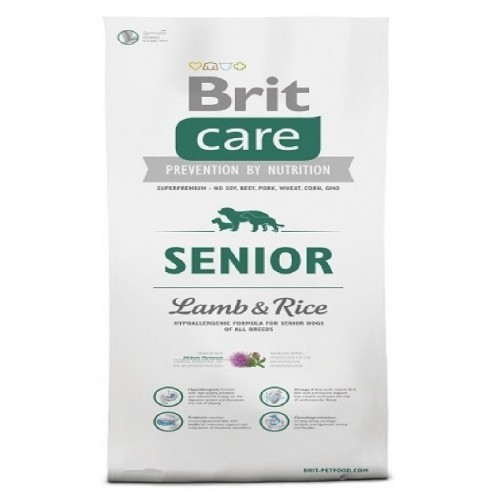 Brit care 12kg Senior L+R