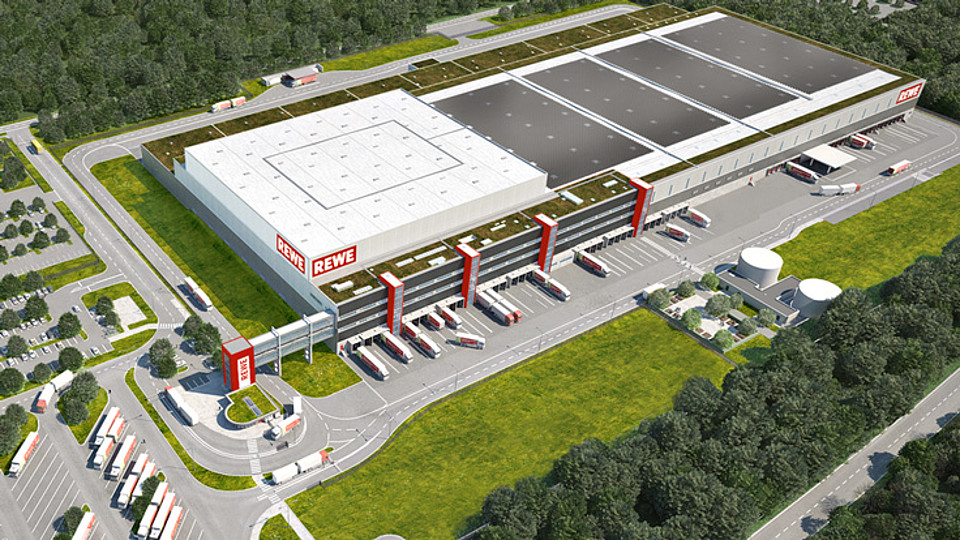 REWE Logistikzentrum Oranienburg