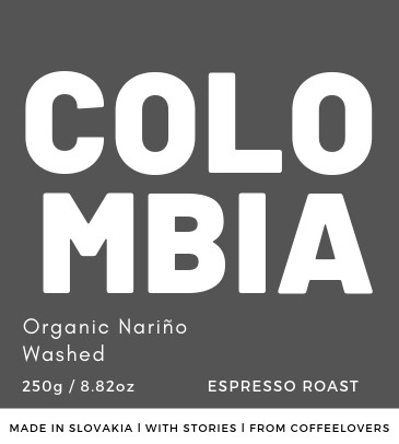 COLOMBIA - Organic Nariño Washed