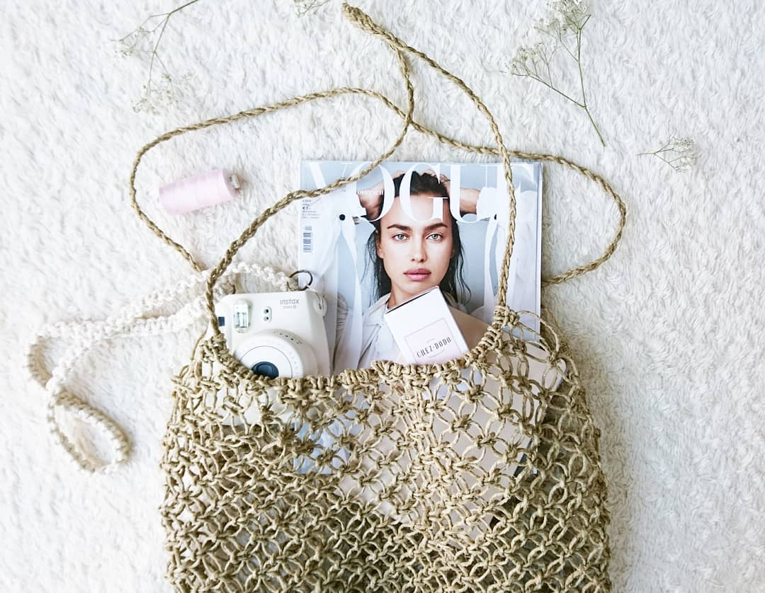 MACRAME BEACHBAG