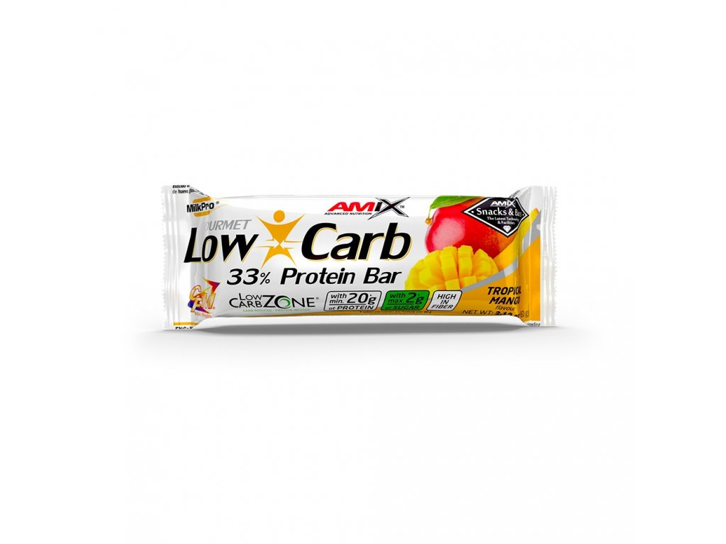 Amix Low-Carb 33% Protein Bar 60g