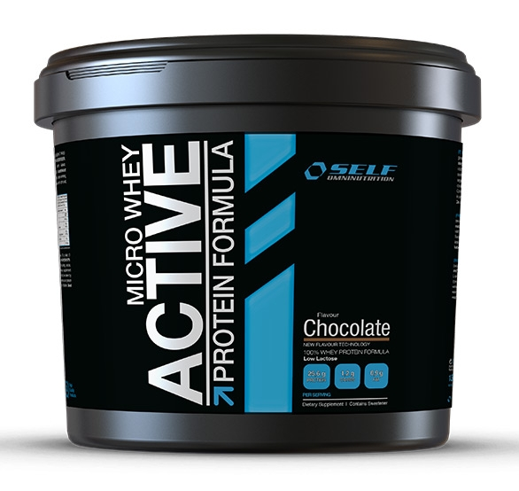 Micro Whey Active Protein 4kg SELF OmniNutrition