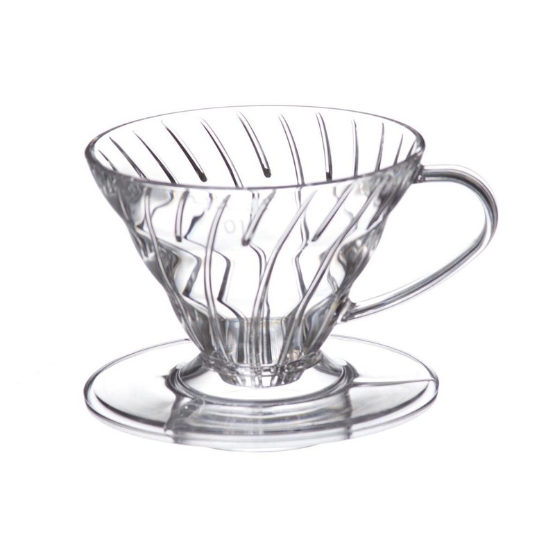 Hario Plastic Coffee Dripper V60 02 Clear
