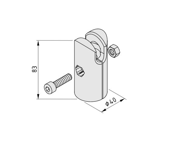 Ball Joint 8, Socket