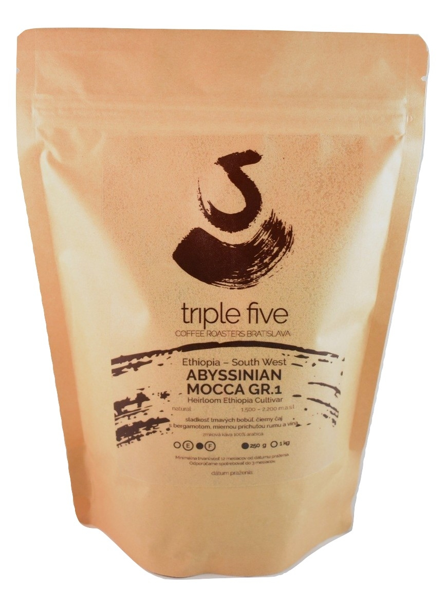 NEW - Ethiopia Gr.1 Abyssinian Mocca 250g