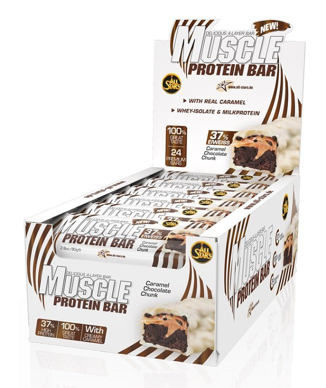 MUSCLE PROTEIN BAR 80G ALL STARS
