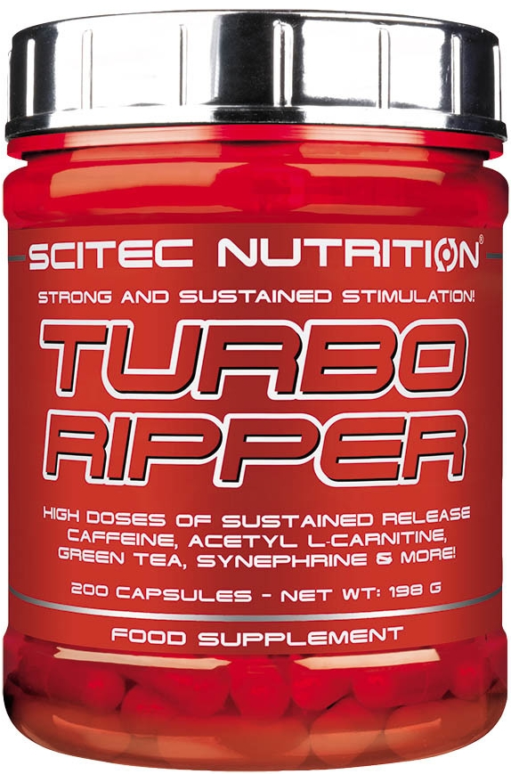 Turbo Ripper 200 kaps Scitec Nutrition