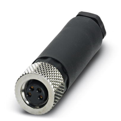 Phoenix Contact - Connector - M8, 4-pole, Screw connection