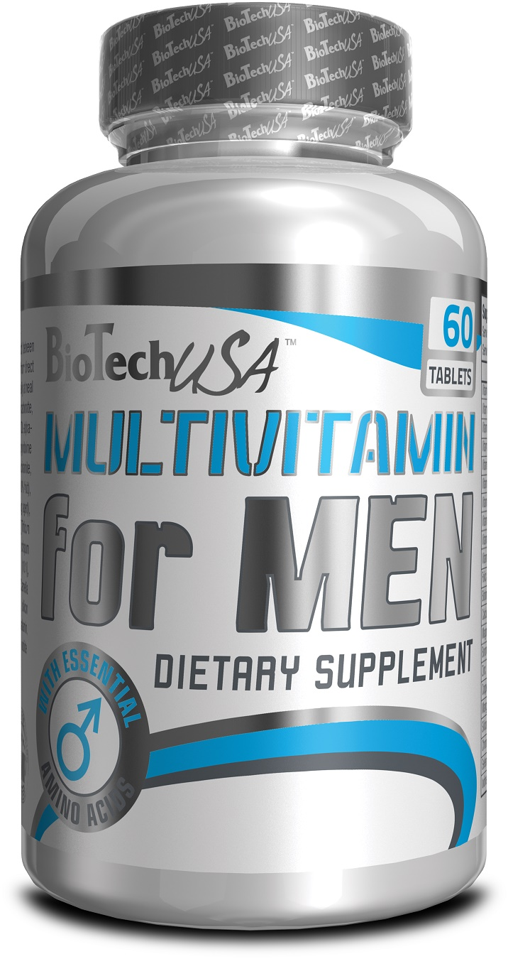 MULTIVITAMIN FOR MEN - 60 TABLIET BioTechUSA