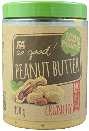 FA SO GOOD! Peanut Butter 900g - Crunchy
