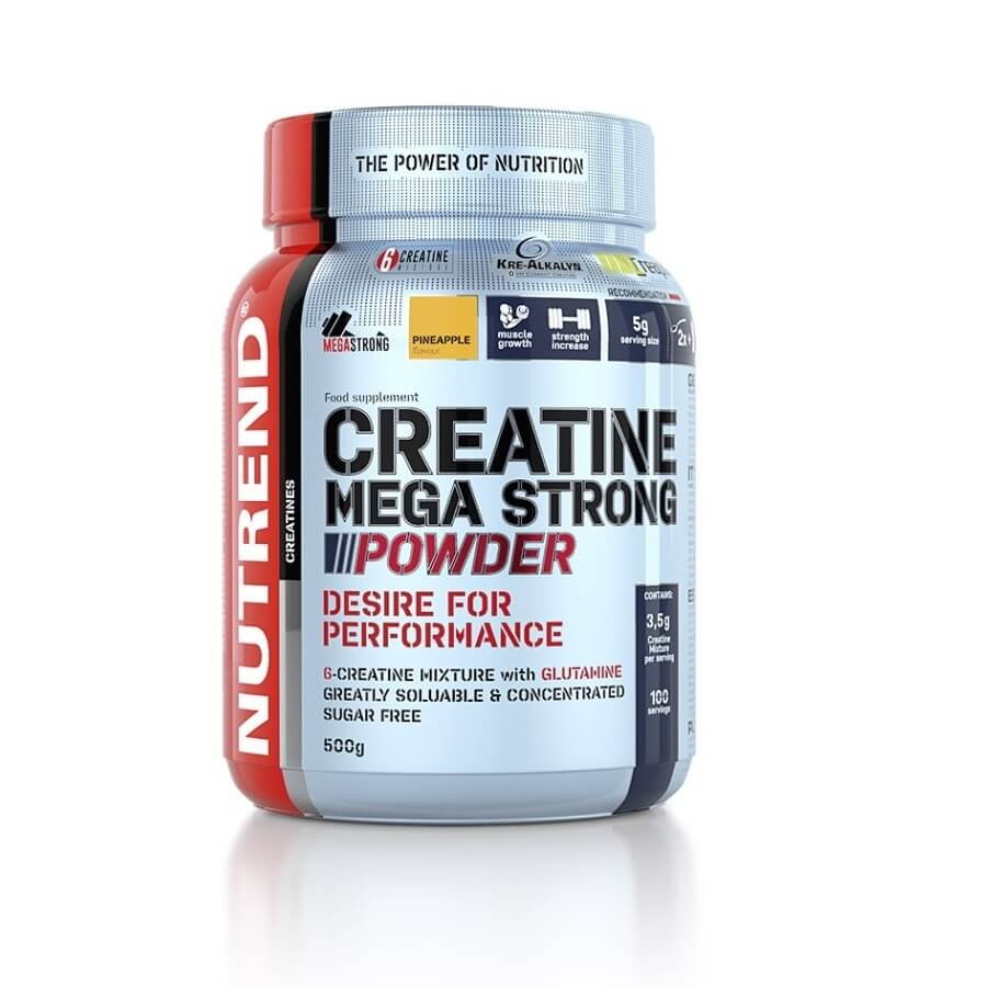 Creatine Mega Strong Powder 500 g - Nutrend