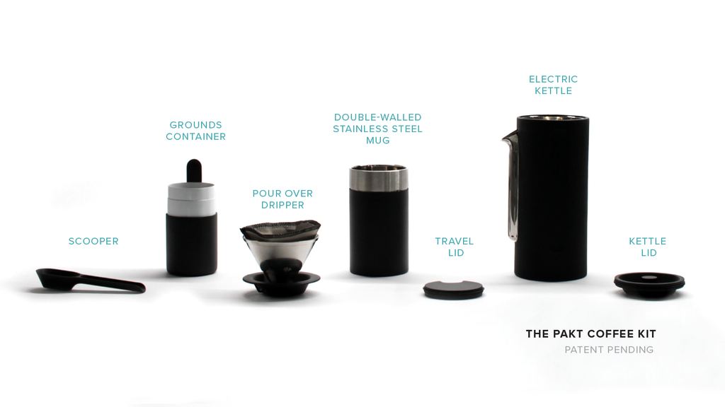 The Pakt Coffee Kit