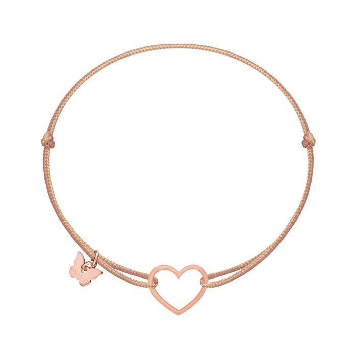 Naramok Hole Heart Rose Gold
