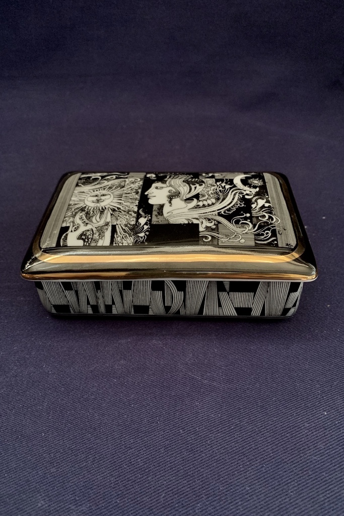 DÓZA TRINKET BOX HOLLOHAZA Art Novo