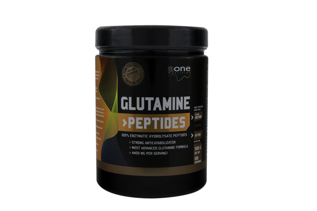 Glutamine Peptides 500 kaps - AONE NUTRITION