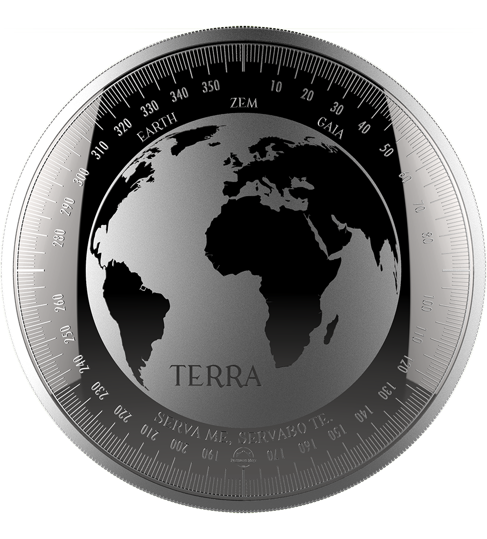 Terra 2018 - 1oz 999 Striebro