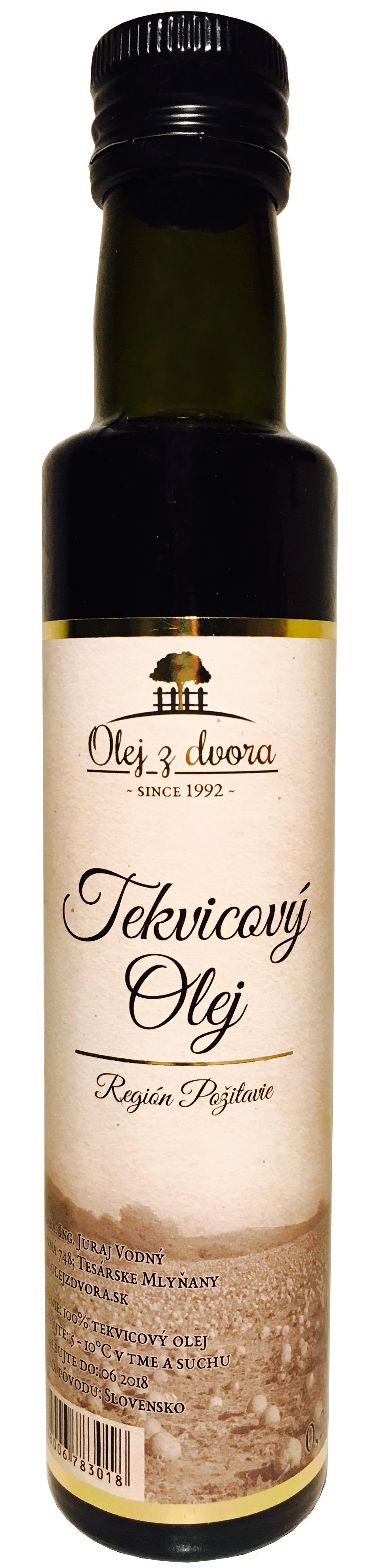 Tekvicový olej (fľaša 0,25l)