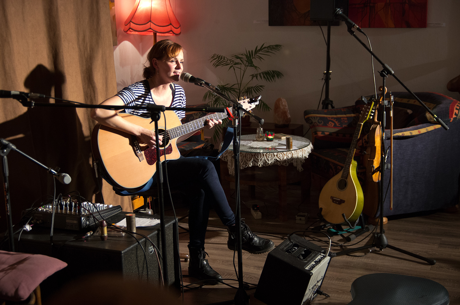#50 OpenMic december 2015 – Dominika Truban – Irish Rose –