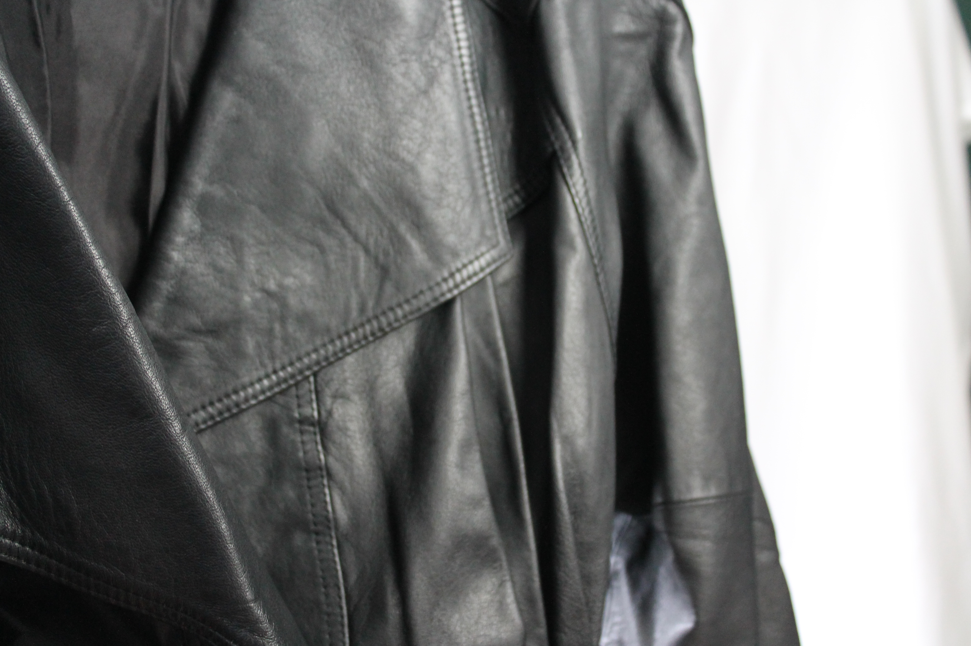 Leather size m - l