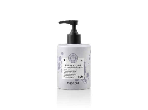 Maria Nila - farebná maska - Colour Refresh 300 ml, Pearl Silver 0.20,