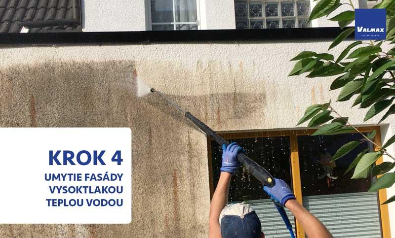 , Ako Vám vyčistíme fasádu za jeden deň., Čistíme Fasády, Čistíme Fasády