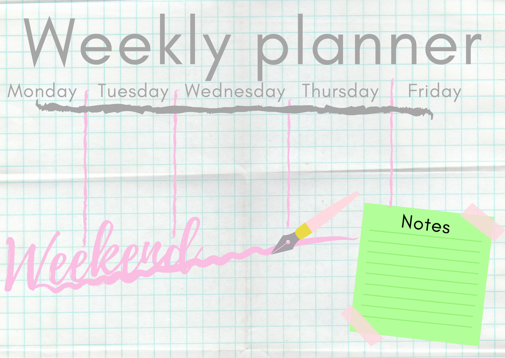 Weekly plannerpng