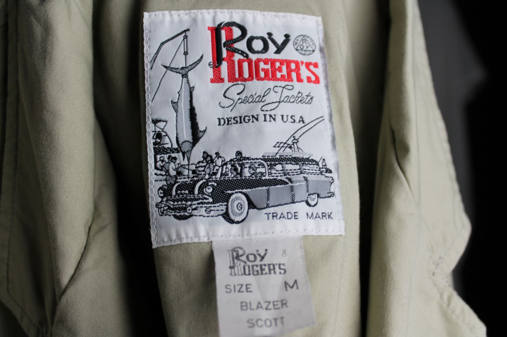 Roy Rogers blazer size Man M - L Woman oversized