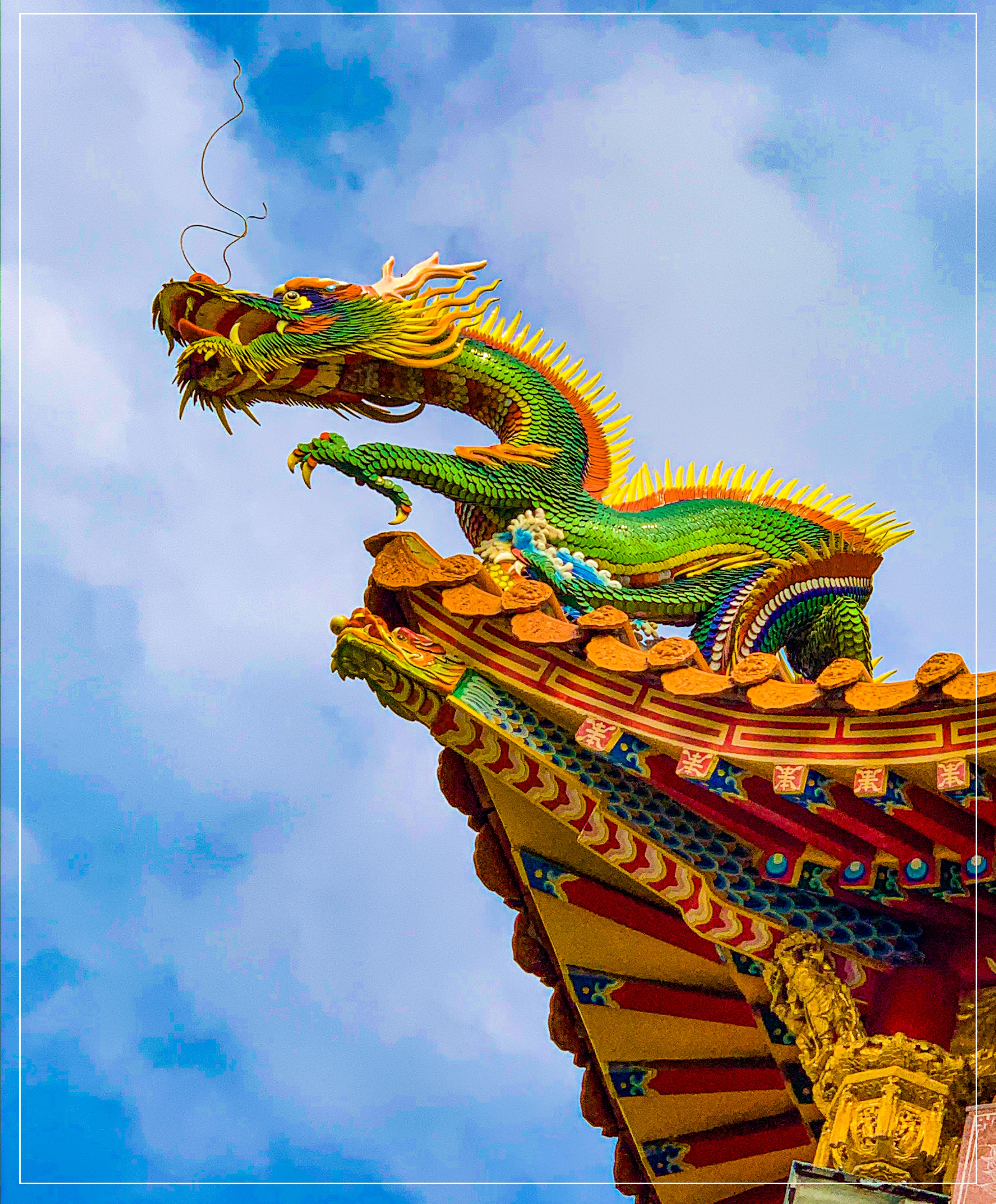 The Dragon of Taiwan drak taiwan tainanjpg