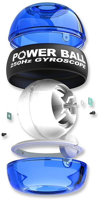 Powerball 250Hz Blue - modrý