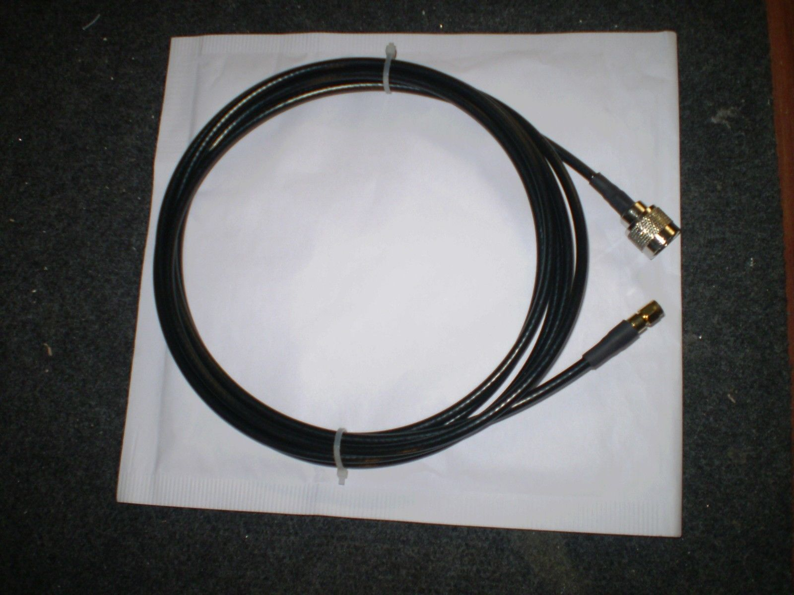 5M H155 BELDEN LOW LOSS CABLE  N MALE TO SMA MALE