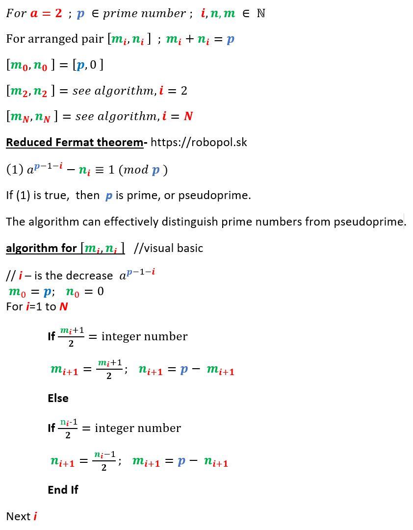 reduced Fermat theoremjpg