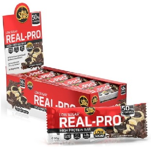 All Stars - Real-Pro Protein Bar 50g