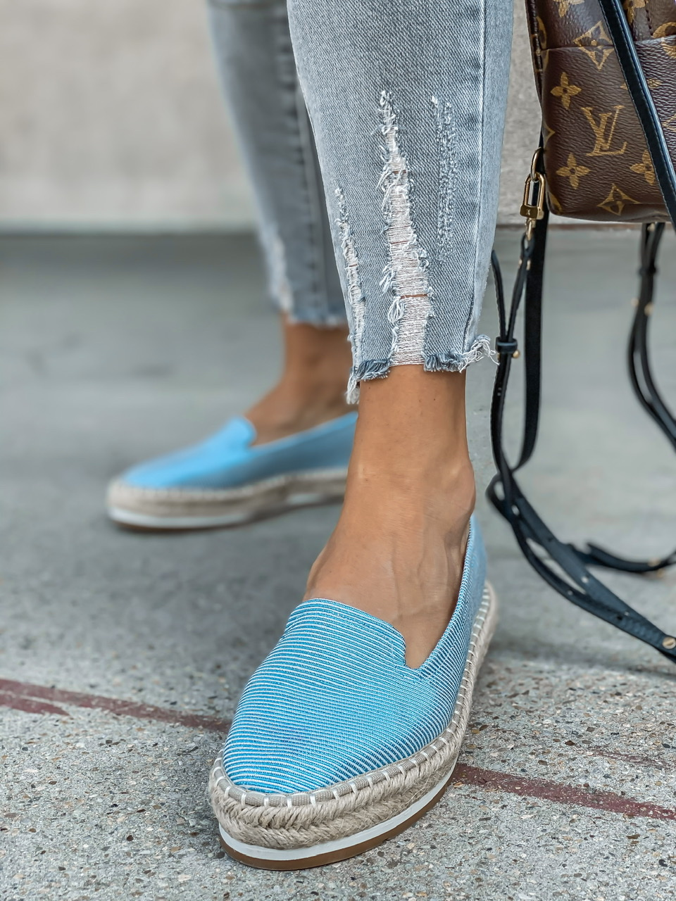 Espadrilky Travezz blue