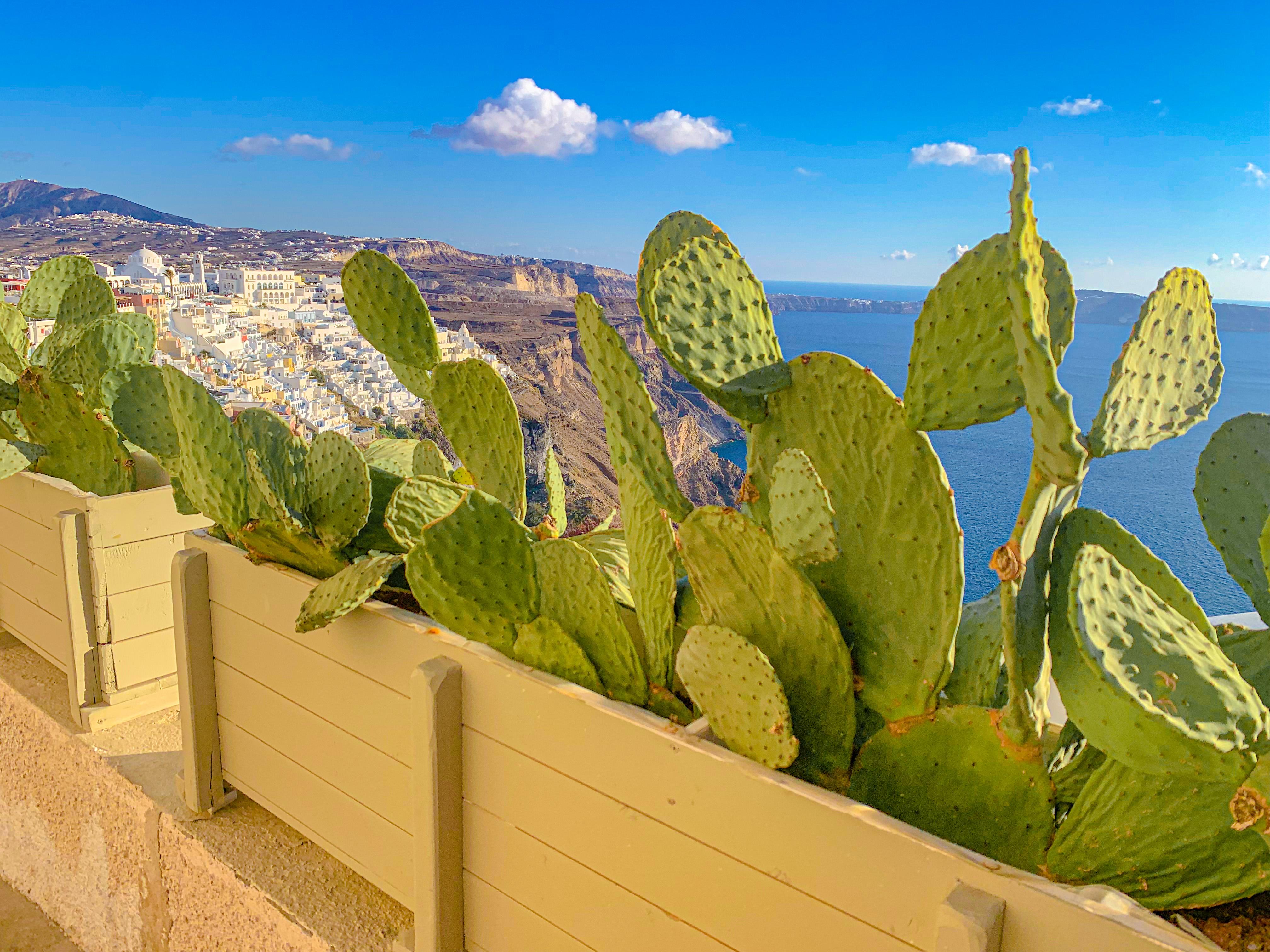 Santorini Fira view  beautifulJPG