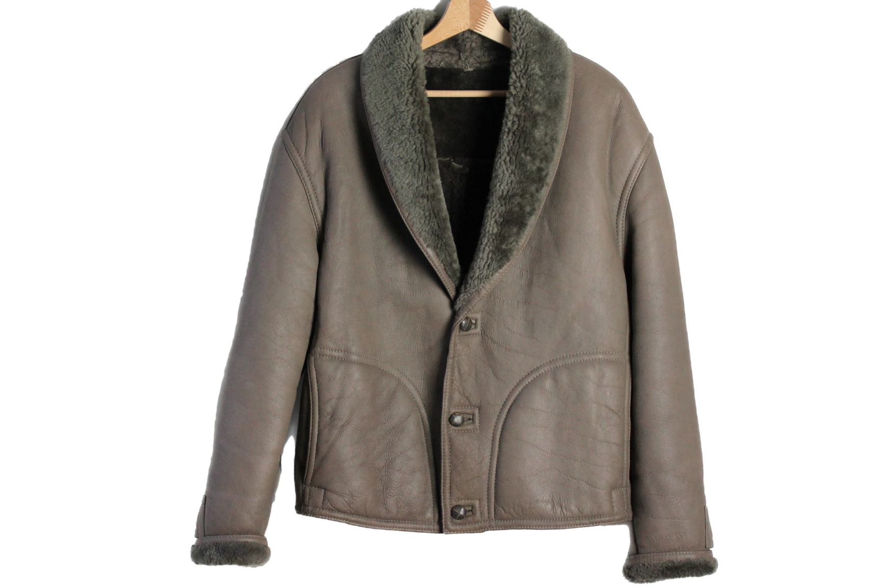 Shearling size M - L