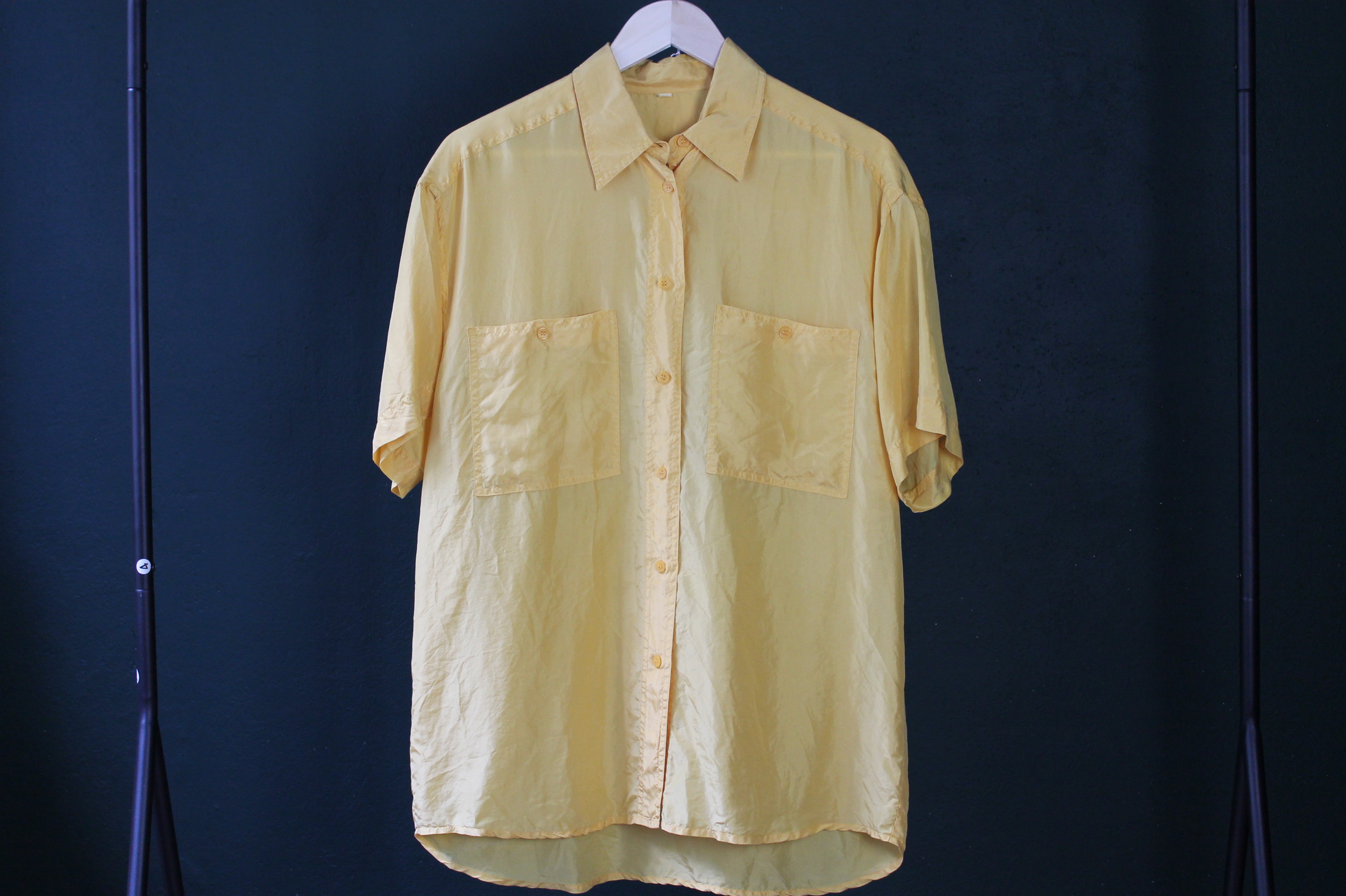 YELLOW SILK size XL