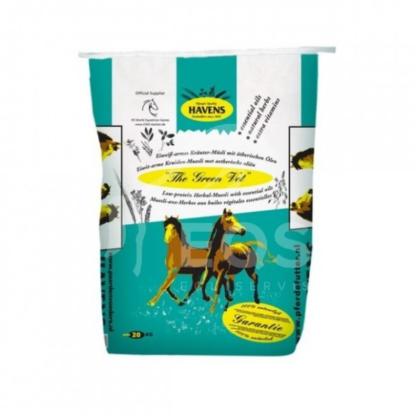 Havens Green Vet Reform Herbal Müsli 20 kg pre podporu dýchania