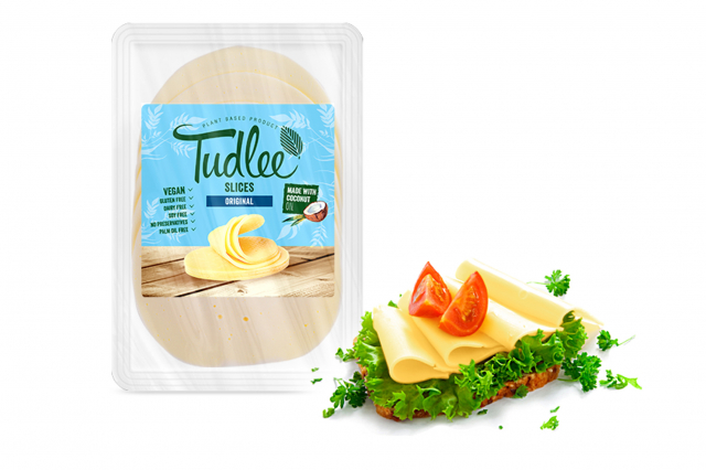 Slices Original - 100% rastlinná alternatíva k syrom - Tudlee 100g
