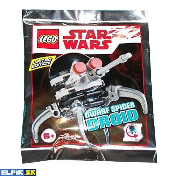 LEGO Dwarf Spider Droid (Black Dome) - polybag 911835