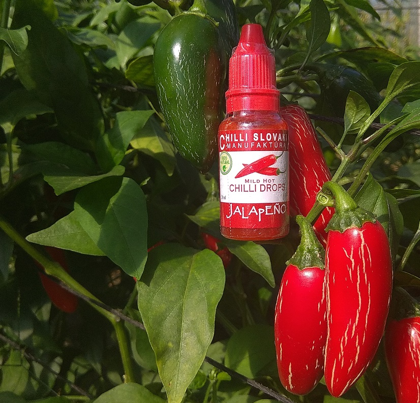 CHILLI DROPS 20ml Jalapeno