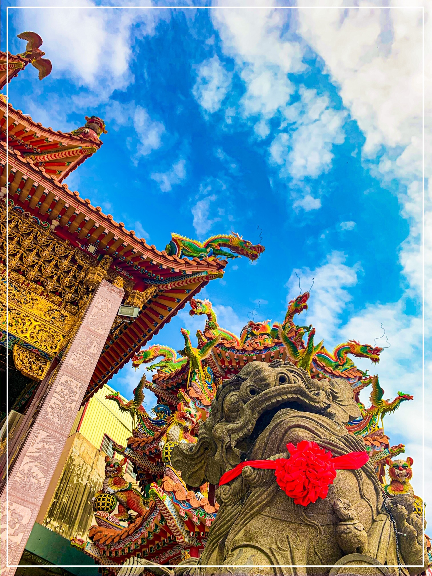 The dragons of Taiwan tainan drakjpg