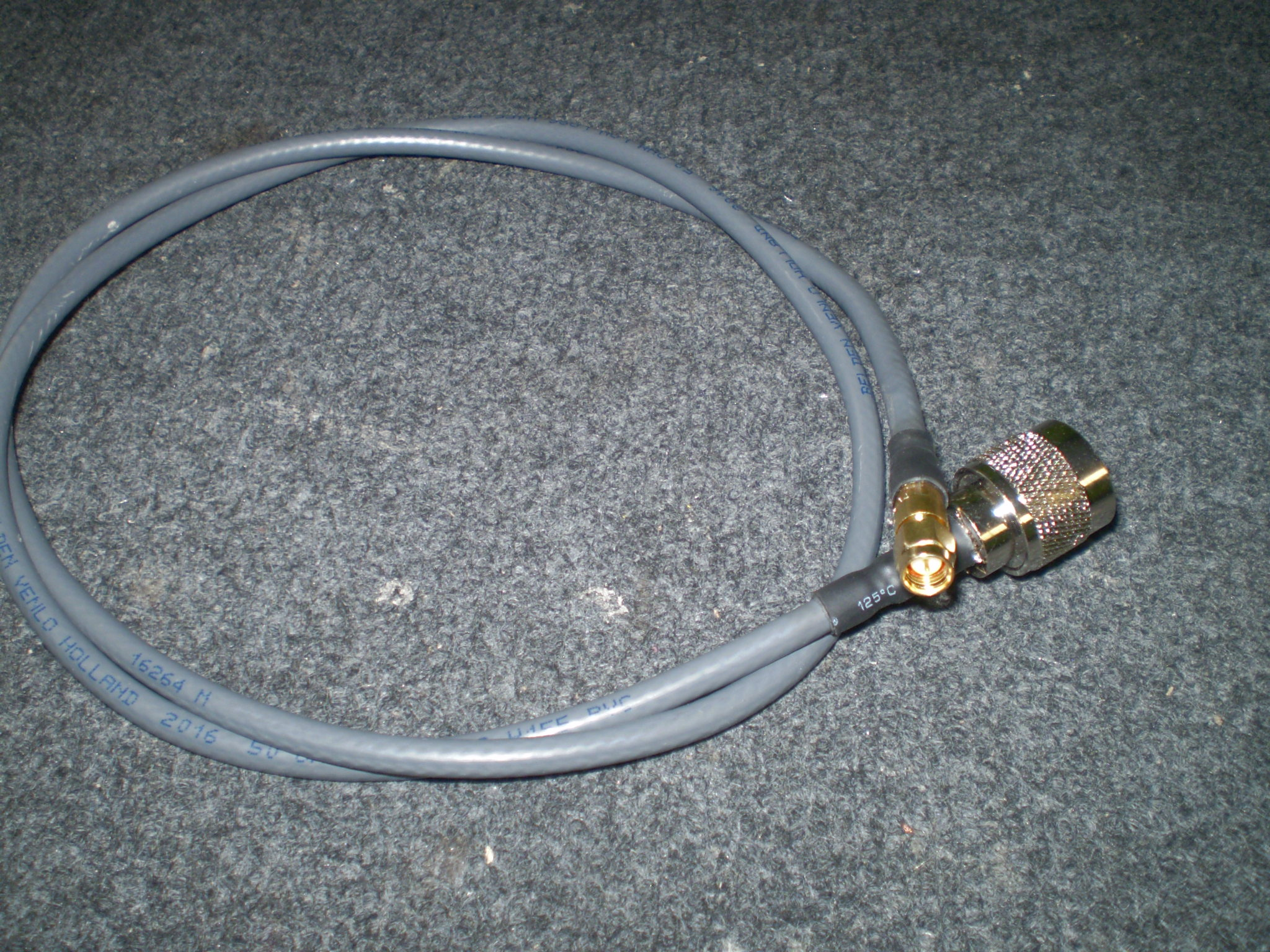 0.5M H155 BELDEN LOW LOSS CABLE N MALE TO SMA FEMALE RP