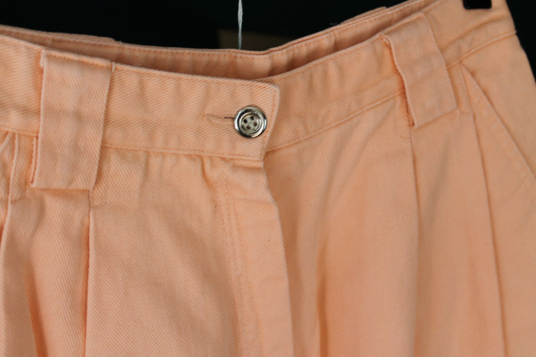 peach high weist size S