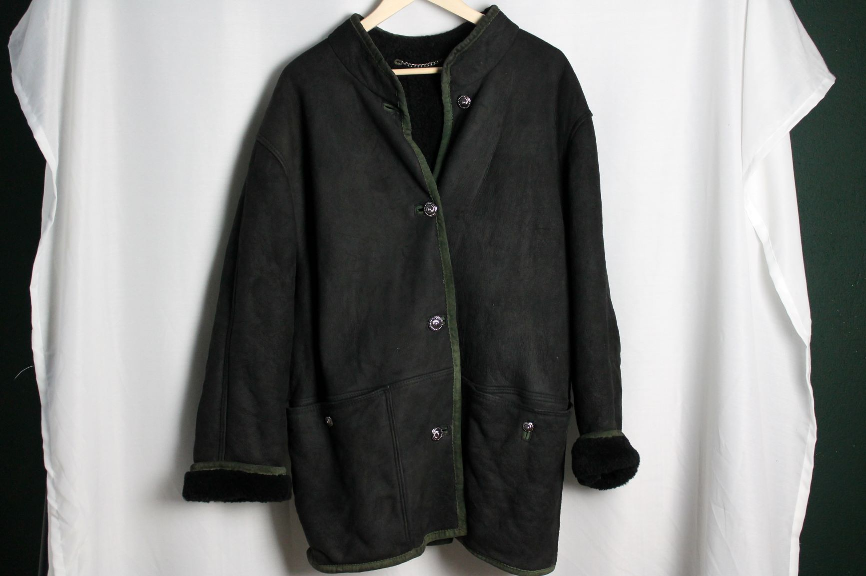 Shearling 2 oversized