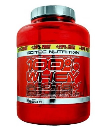 Scitec - 100% Whey Protein Professional 2820g