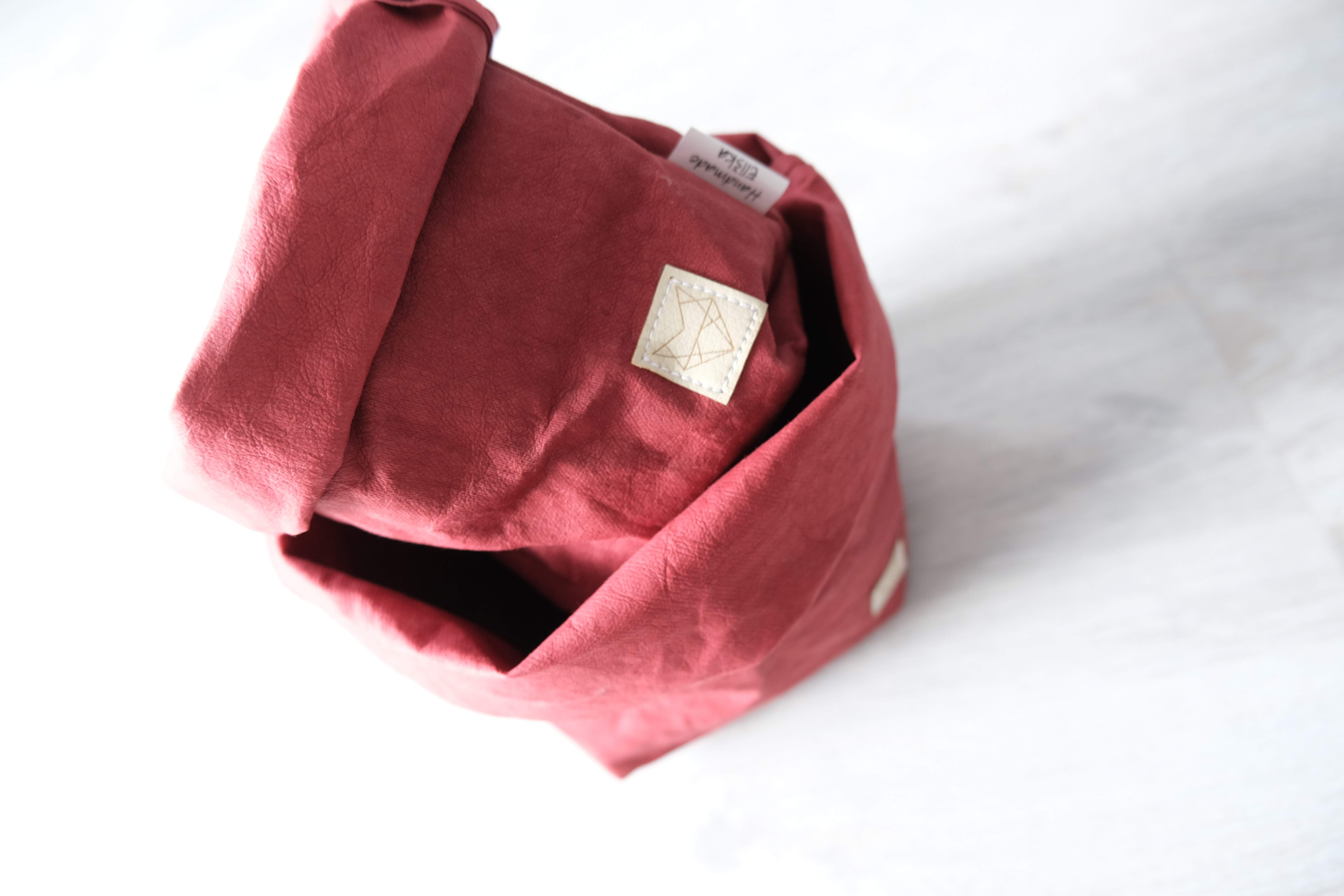 Small home bag Bordó